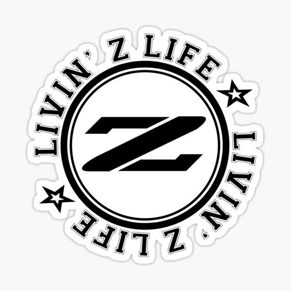 Livin Z Life Sticker