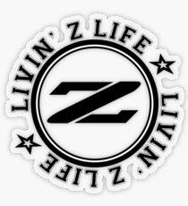 Livin Z Life Transparent Sticker