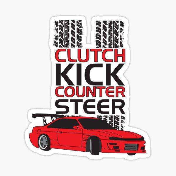 Clutch Kick Drift Sticker