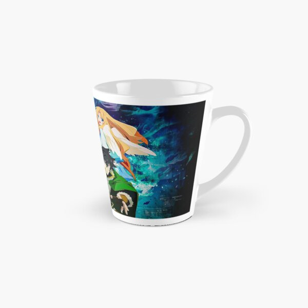 Le soulèvement de l'art du bouclier Mug long