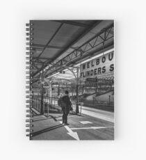 Flinders Street Station Spiral Notebook