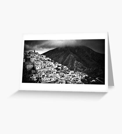 Olympos :: Karpathos Island Greeting Card