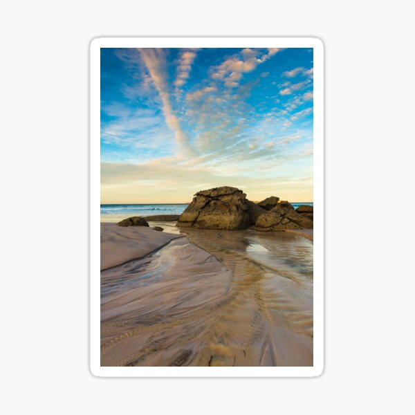Squeaky Beach Waters Sticker