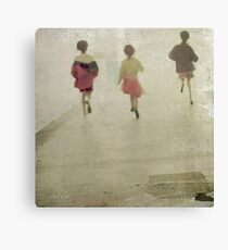 running from~ Canvas Print