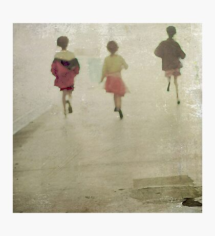 running from~ Photographic Print