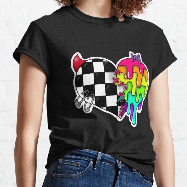 Scemo Half n Half Heart Classic T-Shirt