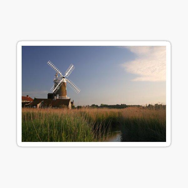 Cley Windmill - Unusual Aeriel shot Sticker