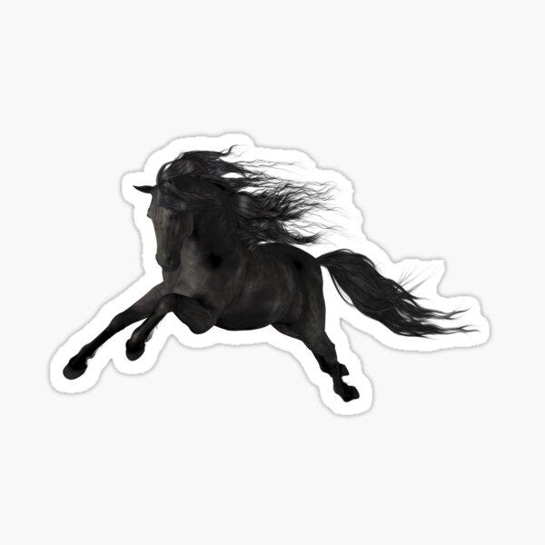Black Stallion Sticker