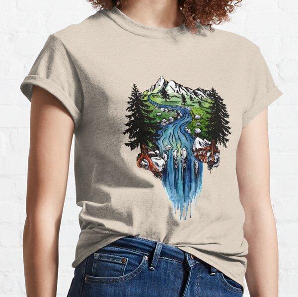 Cascade Meadow Sunset Classic T-Shirt