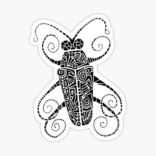 Doodle Bug Sticker