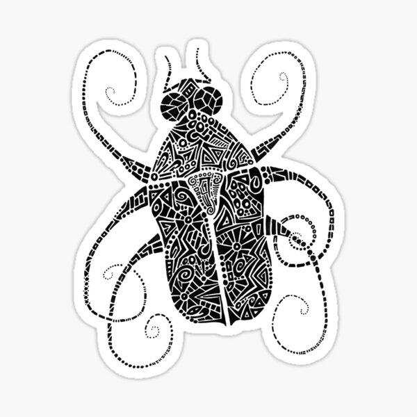 Doodle Bug 2 Sticker