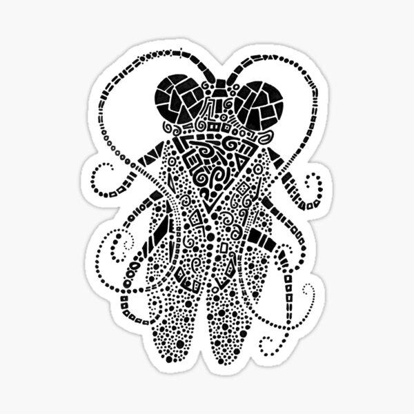 Doodle Bug 3 Sticker