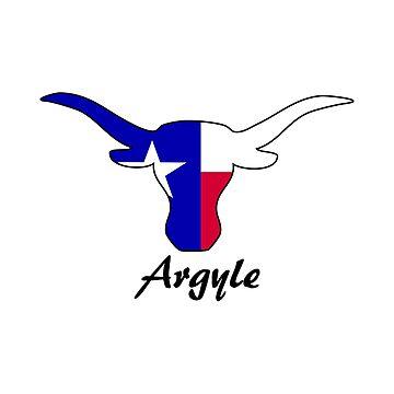 Argyle Texas Longhorn by RBBeachDesigns