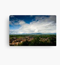 View From Palazzo Borghese Canvas Print