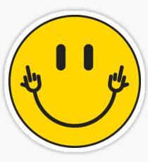 """Smileyhands """"FU!"""" Sticker"""