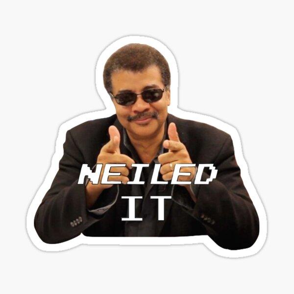 Neiled It Sticker