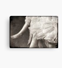 waiting ballerina's Canvas Print