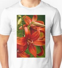 """Asiatic Lily """"Red Tiger"""" Unisex T-Shirt"""