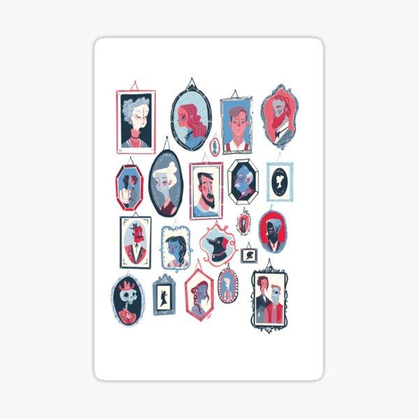 Hang Ups Sticker