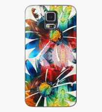 Colorful Daisy Art - Hip Daisies - By Sharon Cummings Case/Skin for Samsung Galaxy