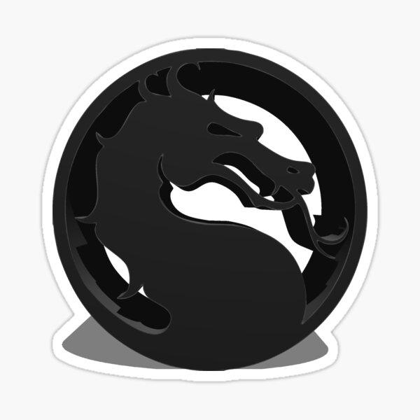 Mortal Kombat Pegatina
