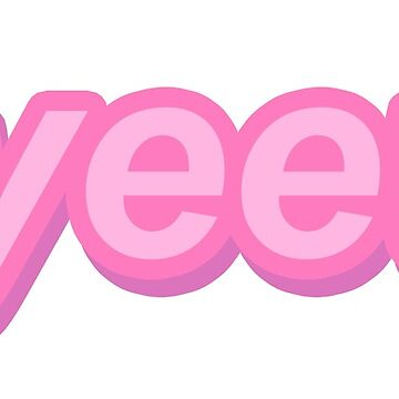 Yeet Meme texto rosa de PennySoda