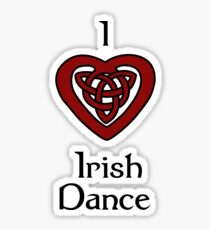 I love Irish Dance! Sticker