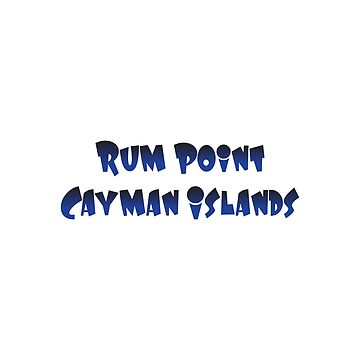Rum Point Cayman Islands by RBBeachDesigns