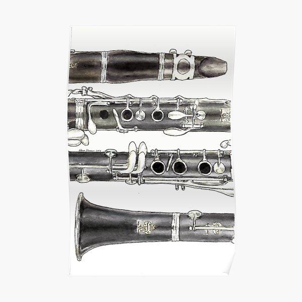 The Clarinet Poster