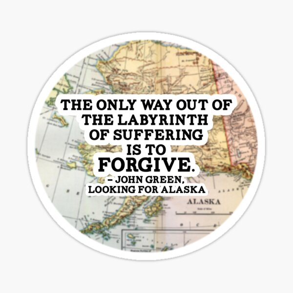 The Labyrinth of Suffering Sticker