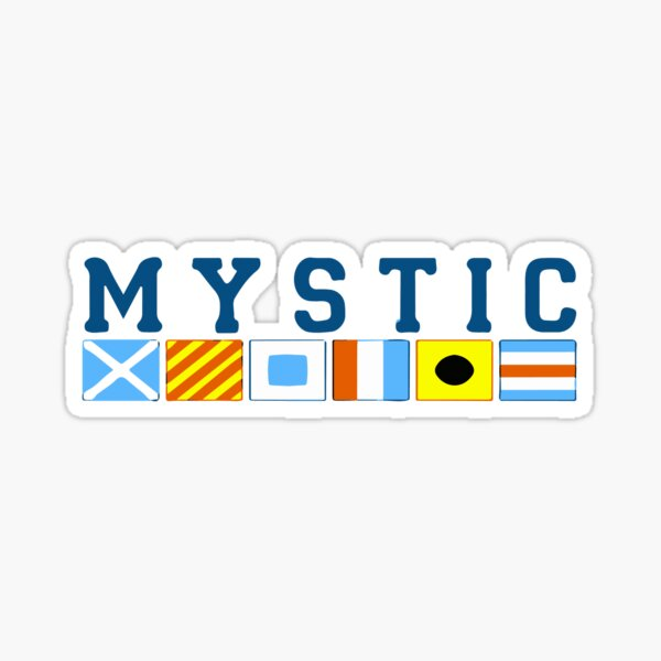 Mystic - Connecticut. Sticker