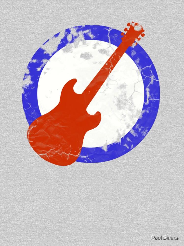 Guitar Mod Distressed | Unisex T-Shirt