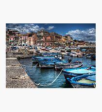 Aci Trezza: il porto Photographic Print