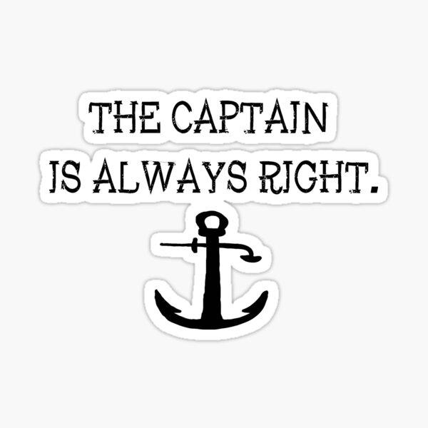 Captain Sticker