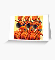 Le grand band Greeting Card
