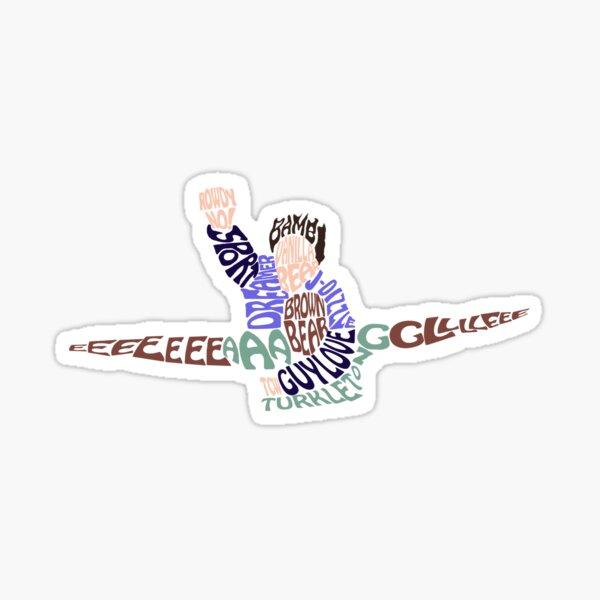 EEEAAAGGGLLLEEE Sticker