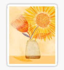 Tuesday Afternoon Sunflowers Sticker