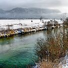 River Loisach - Germany by Daidalos