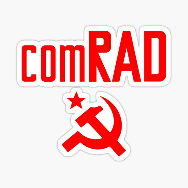 comRAD Pegatina
