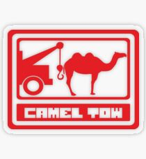 Camel Tow Transparent Sticker