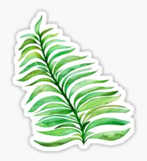 Summer Greenery Sticker