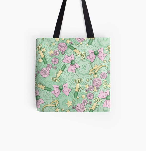 Jupiter Power - Scatter Print All Over Print Tote Bag