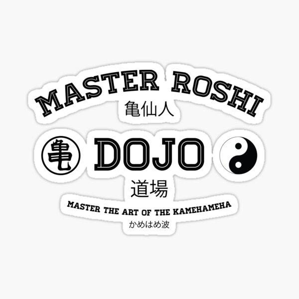 Master Roshi Dojo v1 Sticker