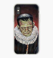 Renaissance Victorian Portrait - Frankenstein iPhone Case