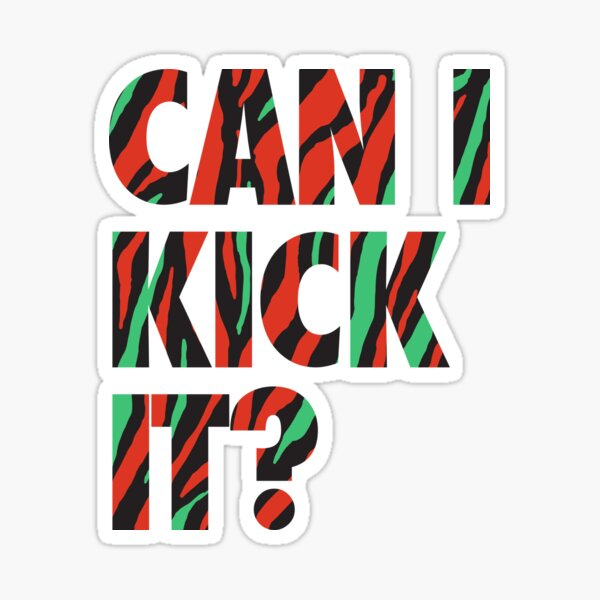 Just Kick It?  Sticker