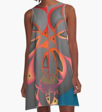 Rogues Gallery 41 A-Line Dress