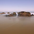 Ocean tranquility 01 by kevin Chippindall