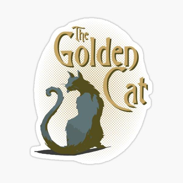 The Golden Cat Sticker