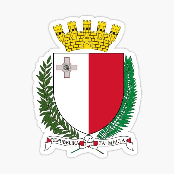 Coat of Arms of Malta Sticker