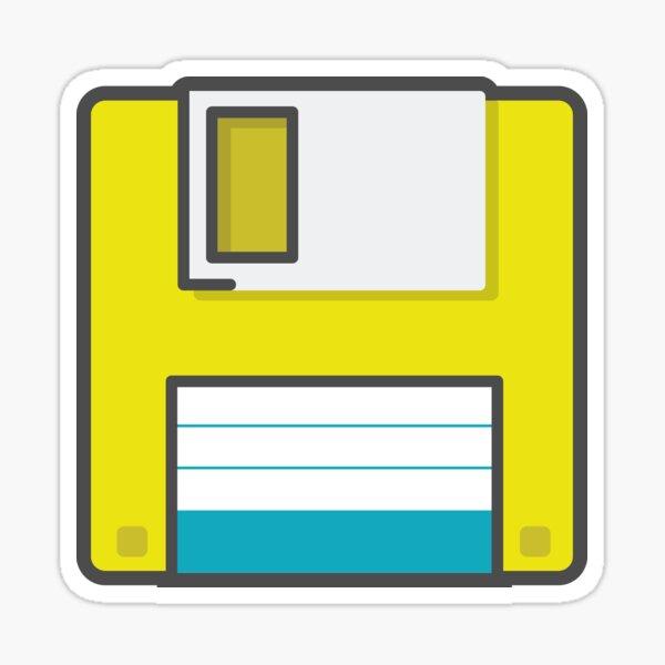 Floppy Sticker